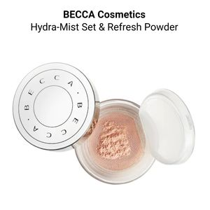 NEW Becca Hydra Mist Set & Refresh Powder
